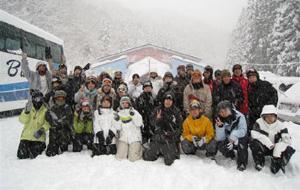 2月 スキー(バス旅行)