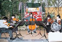 QQ車 倉敷音楽祭のボランティアコンサート 画像