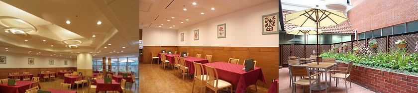 温室のレストラン(倉敷国際ホテル)