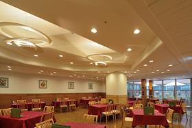 温室のレストラン(倉敷国際ホテル)1