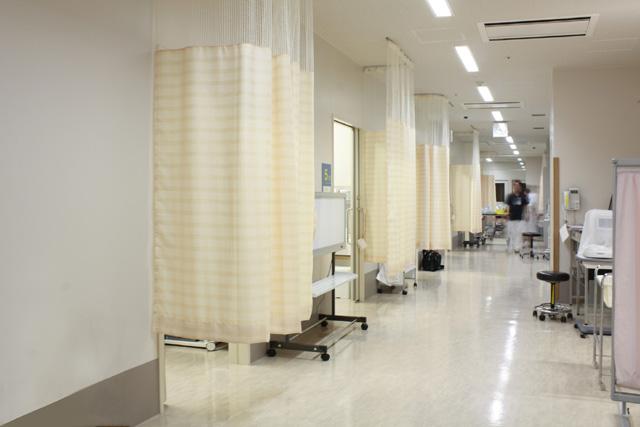 2.救急診察室裏(一般救急受診の患者さん用)