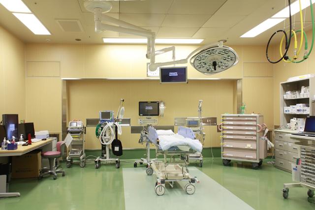 4.救急処置室(救急車搬送・重症の患者さん用)