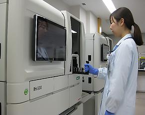 全自動輸血検査装置 IH-500