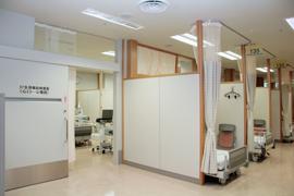 検査室入口