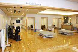 脳卒中リハビリテーション室 風景