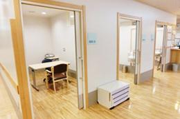 個室(高次脳機能検査・言語聴覚療法で使用) 風景