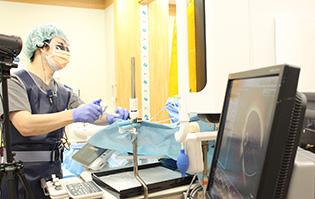低侵襲カテーテル治療センター臨床検査技師