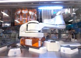 自動散薬調剤ロボット
